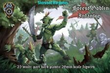28mm Shieldwolf Miniatures Forest Goblins, Fantasy, Oathmark, Erehwon BNIB.