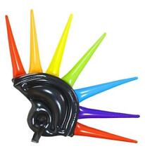 ** INFLATABLE SPIKES HELMET PARTY FANCY DRESS PROP NEW ** SPIKE