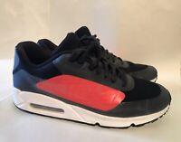 NIKE Running Shoes AIR MAX 90 NS GPX BLACK BRIGHT CRIMSON SIZE 10.5