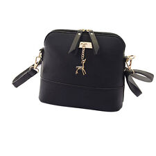 2016 Vintage Women Messenger Bags Small Shell Leather Handbag Casual Bag
