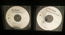 Lot of 2 JOSH GROBAN Promo CDs (February Song / You Are Loved - Don't Give Up)