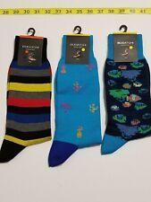 Bugatchi Designer Socks - Multi-Color - One Size - NWT - 3 Pair