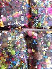 Wholesale Half Price Sale 15kgs Acrylic & Glass Beads Spacers Chunky Flowers