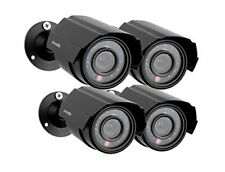 Zmodo 4-Pack Analog CCTV 700TVL HD Motion Bullet Security Cameras w/Night Vision
