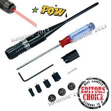 Red Laser BoreSighter Bore Sight kit for 22 to 50 Caliber Rifles Handgun PE