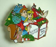 Disney Pin DSF Sleeping Beauty Christmas Carolers Jumbo LE 400