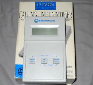 WORKS! vintage BELLSOUTH Calling Line Identifier MHE20 battery powered CALLER ID