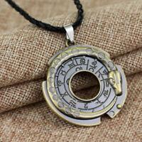 Unisex Metal Collar Amuleto Collar Lucky Talisman de Protección
