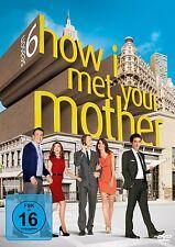 HOW I MET YOUR MOTHER DIE KOMPLETTE DVD SEASON / STAFFEL 6 DEUTSCH