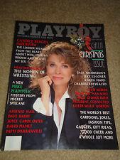 "Playboy Magazine December 1989 ""Gala Christmas, Candice Bergen"" AG42,SNY,ES,WE"