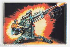 G.I. Joe Flak Cannon FRIDGE MAGNET (2.5 x 3.5 inches) cobra real american hero