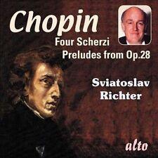 Chopin: 4 Scherzi & 13 Preludes from Op. 28 (CD, Nov-2011, Alto)