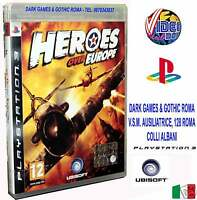 HEROES OVER EUROPE GIOCO PS3 NUOVO VERSIONE ITALIANA IT
