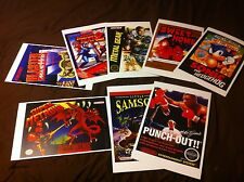 Custom offer YOU CHOOSE ANY 2 TITLES 11x17 Video Game Box Art Posters -No Game-