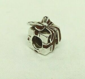 Authentic PANDORA Sterling Silver Red Enamel Charm CHRISTMAS GIFT #791086EN27