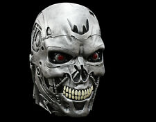 Officially Licensed Deluxe Terminator Genisys Endoskull Halloween Mask Robot