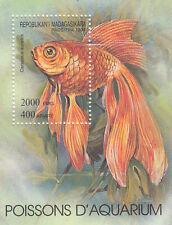 282689 / Fauna Block ** MNH  Madagaskar Fisch