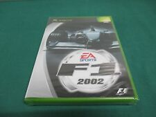 XBOX -- F1 2002 -- JAPAN. GAME. SEALED & NEW!! 36882
