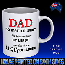 Funny Father's Day Coffee Mug Gift Ideas Birthday Christmas Special Dad Novelty