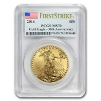 2016 1 oz Gold American Eagle MS-70 PCGS (FS) - SKU #93993