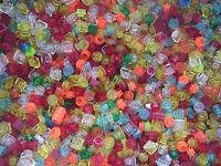 Lego Vrac 100 pièces transparentes Neuves / Bulk 100 Trans. colored plates NEW