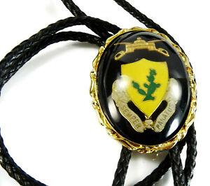 12th Cavalry Regiment Unit Crest Semper Paratus Bolo Tie Military Bola