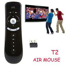 T2 2.4GHz Wireless Air Mouse 3D Motion Stick Remote Control for Android Smart TV