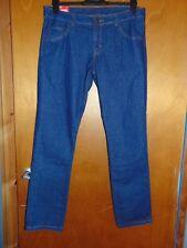 """F+F 100%Cotton Straight Leg Jeans 12 W 27"""" L 32"""" Blue BNWT"""