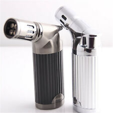 NEW Jobon Quad Jet Flame Cigar Torch Lighter Butane Refillable Cigarette Lighter