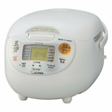 ZOJIRUSHI Electronic rice cooker 5-cup NS-ZLH10-WZ WHITE 220-230V NEW japan
