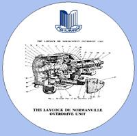 Standard Vanguard, Triumph Renown & TR2 Laycock De Normanville Overdrive Manual