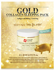 [SNP] Gold Collagen Elasticity Sleeping Pack 100ml / Anti-aging