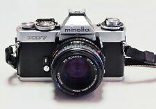 Minolta XD-7 35mm Spiegelreflexkamera mit 50mm Objektiv Kit