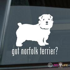 Got Norfolk Terrier Sticker Die Cut Vinyl - v2