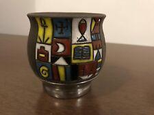 Handmade yerba mate ceramic (black porcelain) cup-gourd