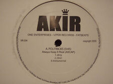 "AKIR + IMMORTAL TECHNIQUE - POLITRICKS / TREASON (12"")  2005!!!  RARE!!!"