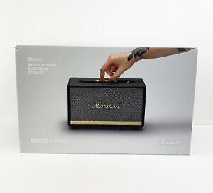 Marshall - Acton II Wireless Home Bluetooth Speaker - Black