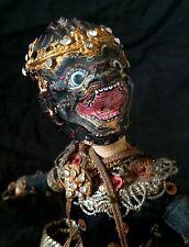 Antique Thai Buddhist good & evil goddess cloth doll