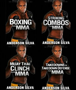 Anderson Silva MMA DVD Set (All 4 in the series)