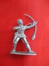 JEM Figurine moyen age 1/32 soldat avec arc Norev Non peint