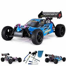 Nitro Powered RC Buggy Kids Adult Toy Fuel Starter Kit 1/10 Radio Control Hobby