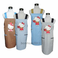 1pc Lady's Lovely Kitchen Apron - Hello Kitty Cooking Apron - Women KT