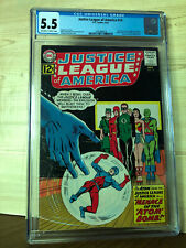 Justice League of America #14 (Sep 1962, DC) CGC 5.5 Atom joins JLA