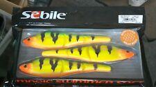 SEBILE MAGIC SWIMMER SOFT 160MM 33G FIRETIGER GOLD FISHING LURE