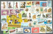 Mozambique  200 all different stamps collection many thematics