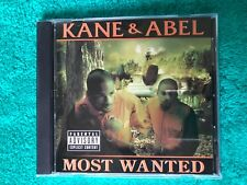 Kane & Abel : Most Wanted CD. Rare Promo copy had different art and even songs💎
