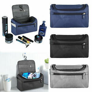 Waterproof Travel Wash Bag Mens Toiletry Organizer Shaving Cosmetic Case Men Wom