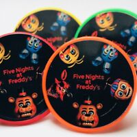 FNAF Five Nights at Freddy's Cupcake Toppers Rings Party Favors - 20 pcs