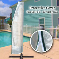 Protective Cover for Hanging Offset Patio Umbrella Parasol Waterproof Protect