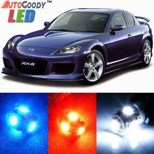 12 x Premium Xenon White LED Lights Interior Package Kit for Mazda RX-8